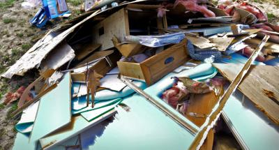 Storm Deals Devastating Blow to Embattled Moore County Community
