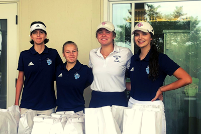 UP Girls Golf