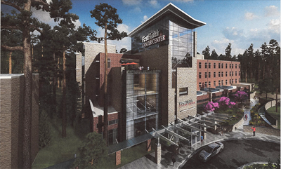 Firsthealth Cancer Center Rendering