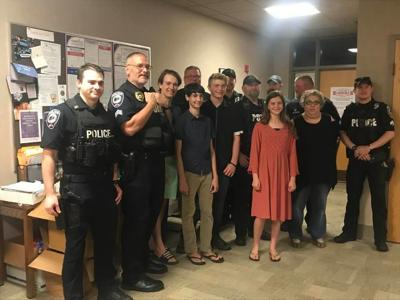 Pinehurst police gifts