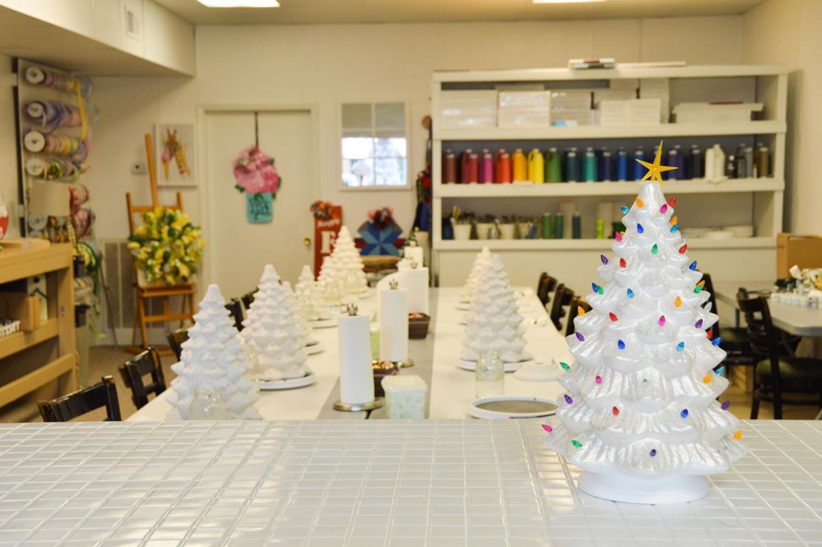 Crafter's Heart Studio trees