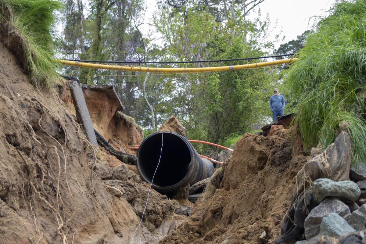 Sinkhole in Southern Pines