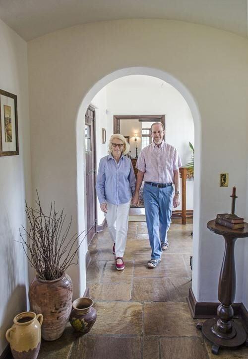 Donald and Caroline Naysmith at Duncraig Manor in 2019.