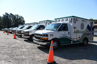 FirstHealth ambulances