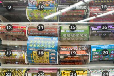 Lottery tickets on sale at Circle K