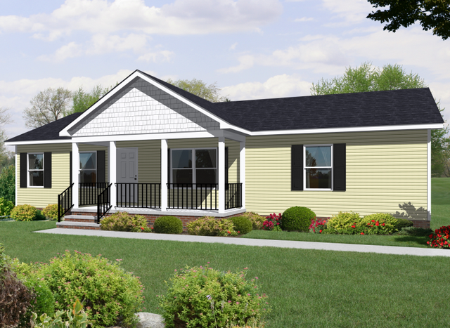 Rendering of Butterfly Cottage