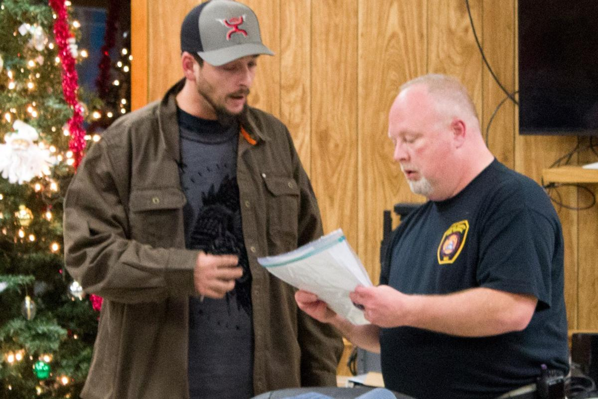 Scot Brooks at Crains Creek Volunteer Fire Department