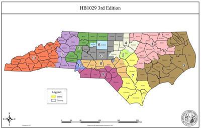 2019 Electoral District Map