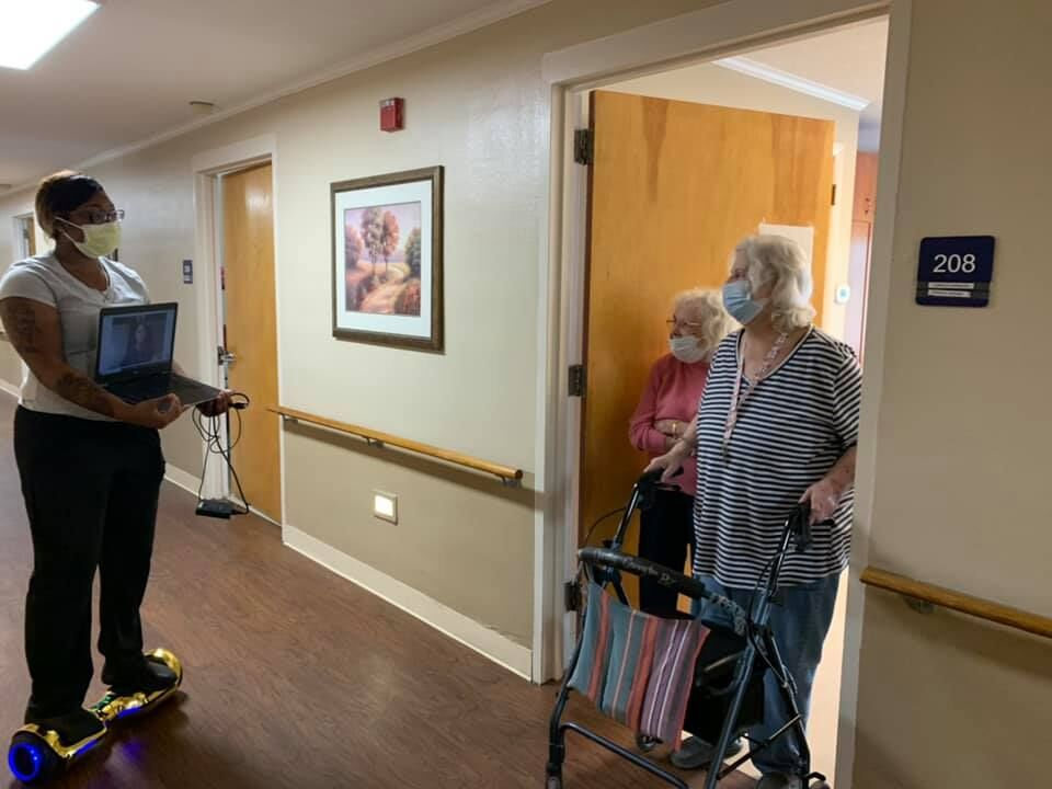 Residents of Seven Lakes Assisted Living & Memory Care