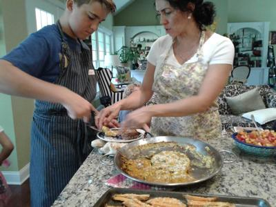 Sonia Middleton Cooking Class