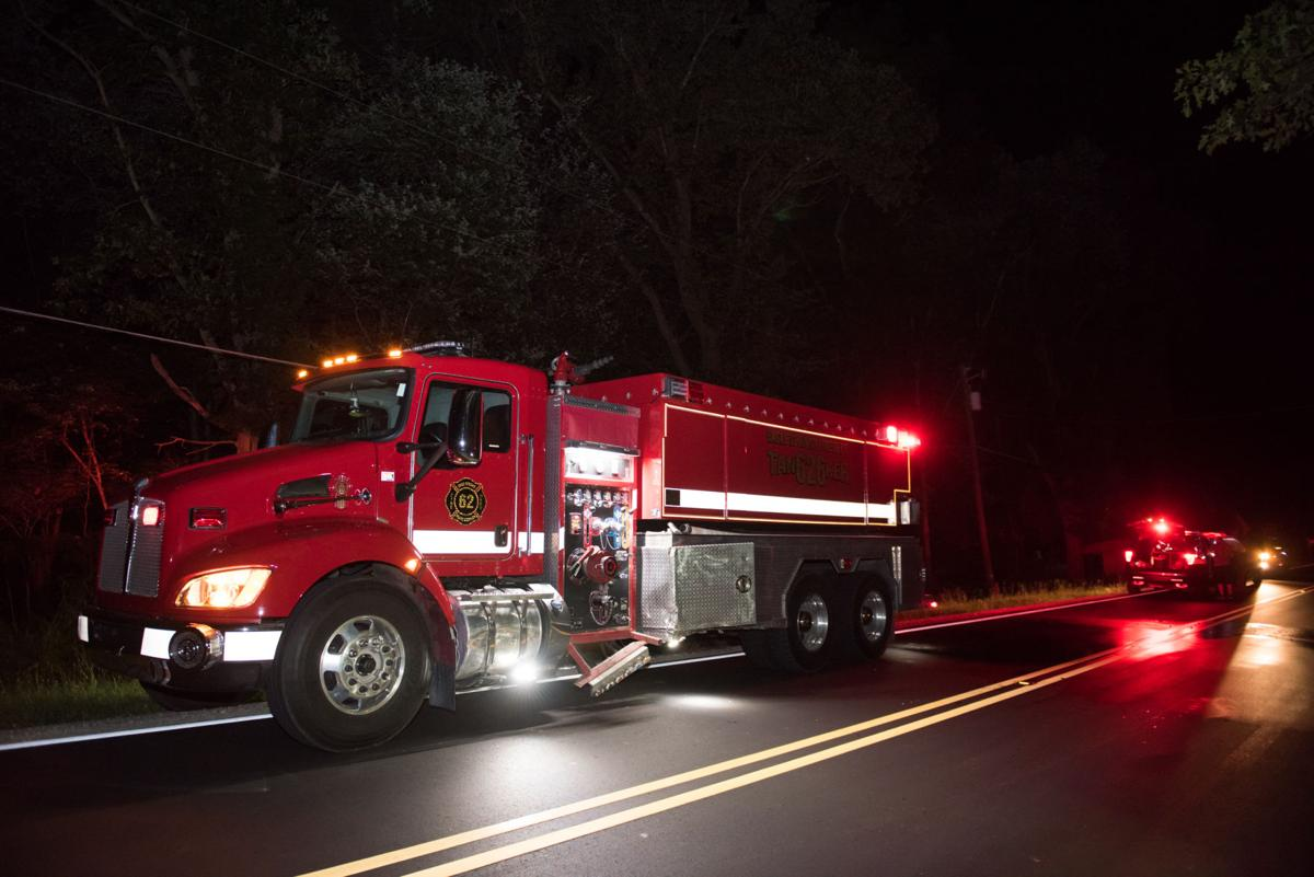 Eagle Springs Fire Tanker Struck in Hit-and-Run