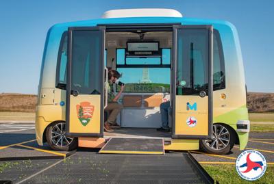 NCDOT self driving shuttle