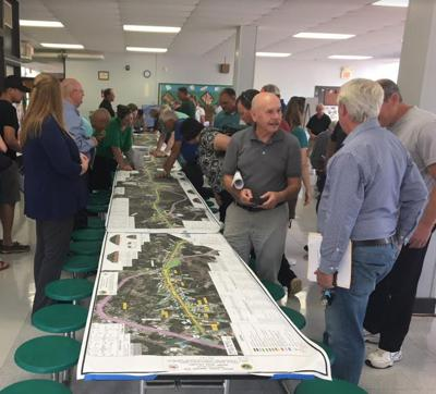 NCDOT meeting in Aberdeen