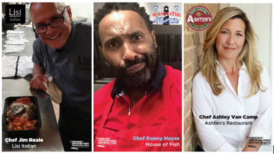 Local Chefs Trading Cards