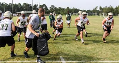 Pinecrest football practice