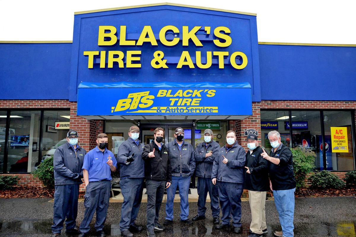 Black's Tire group photo