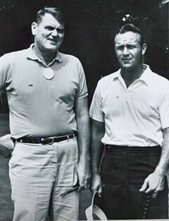 Bob Drum with Arnold Palmer