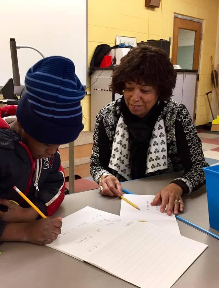 Moore Buddies in-school mentoring