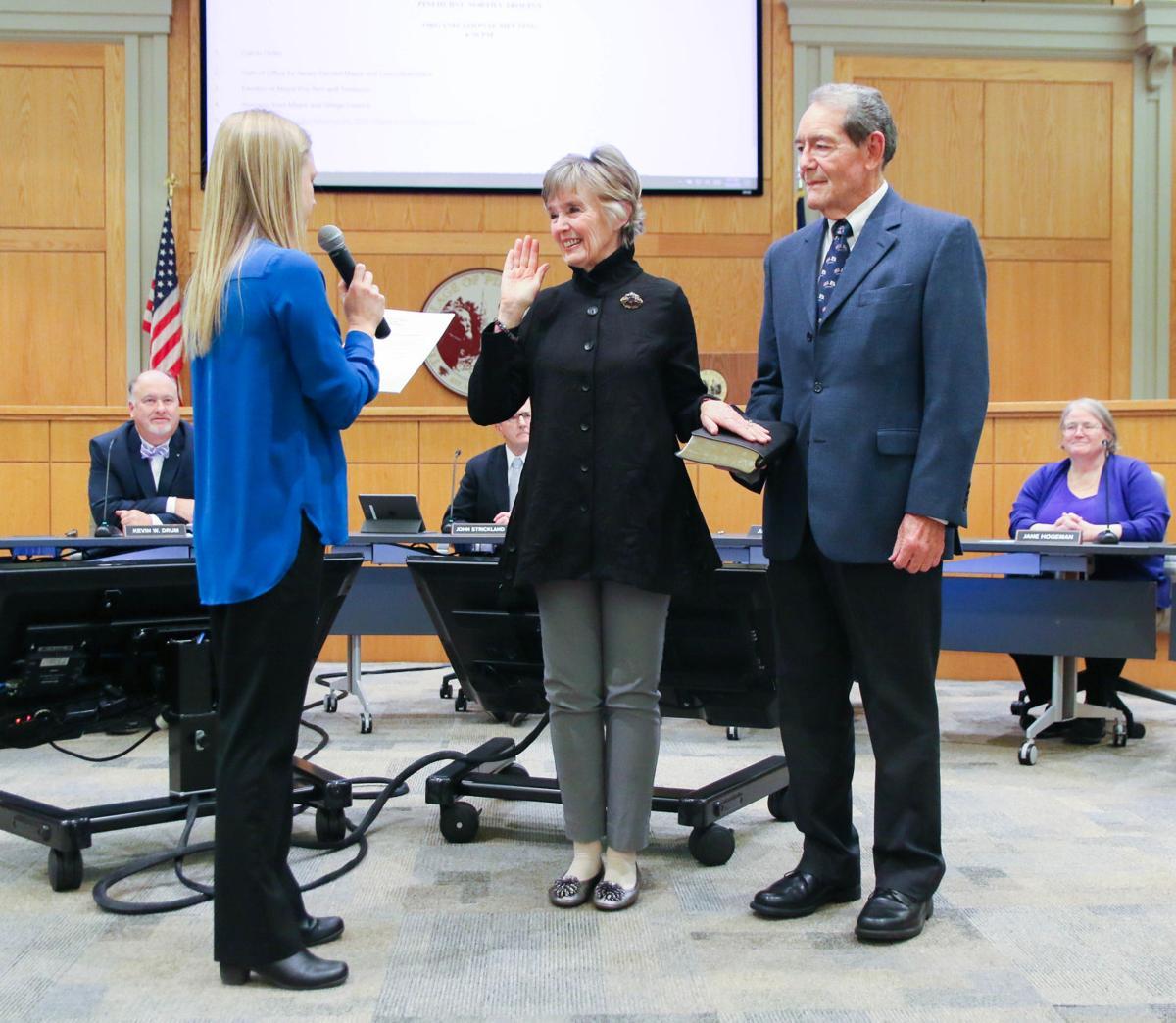 Lydia Boesch Sworn In