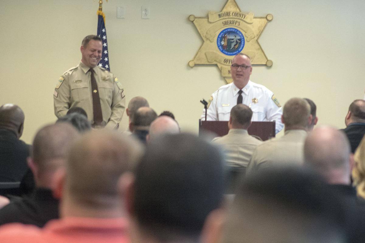 Moore County Sheriff Ronnie Fields Celebrates Staff, Shares Goals