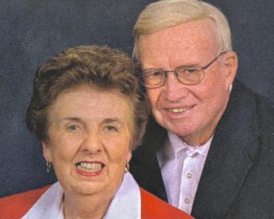 D.P. and Mary Lou Black in an undated portrait.