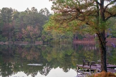 Warrior Woods Lake in Southern Pines