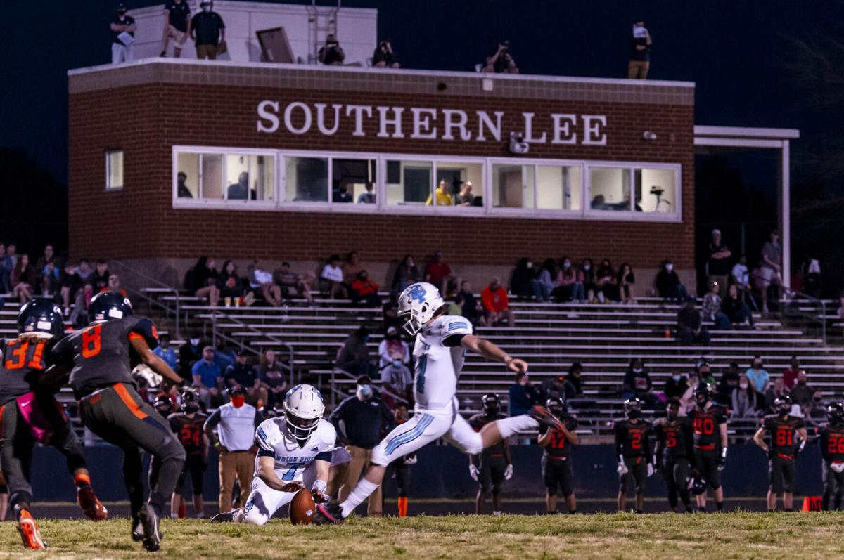 Union Pines defeats Southern Lee, 40-7
