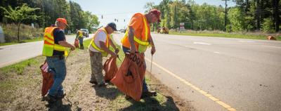 NC-DOT litter sweep