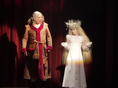 A Christmas Carol Ghosts.Temple Theatre Brings Back A Christmas Carol Features