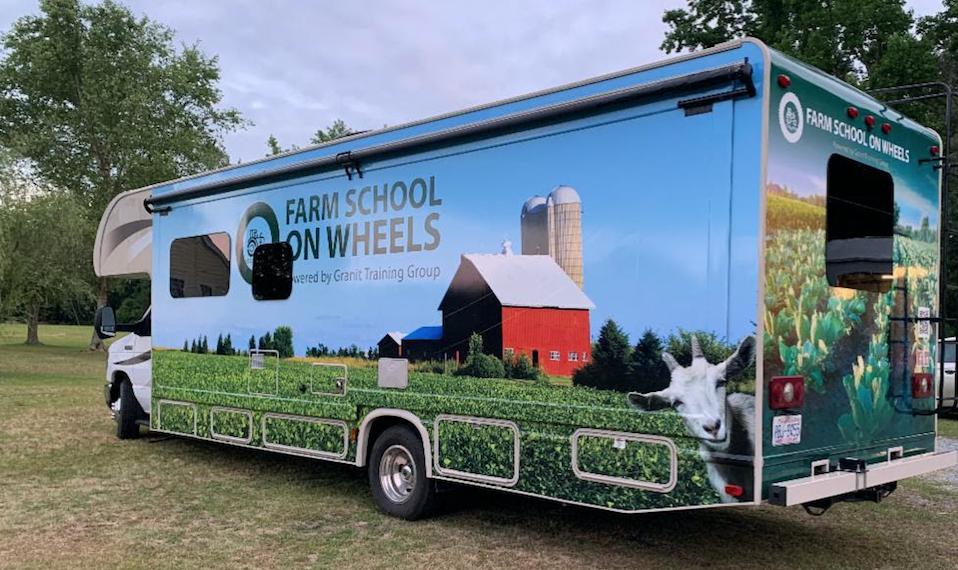Farm School on Wheels Launches Mobile Farm Training RV