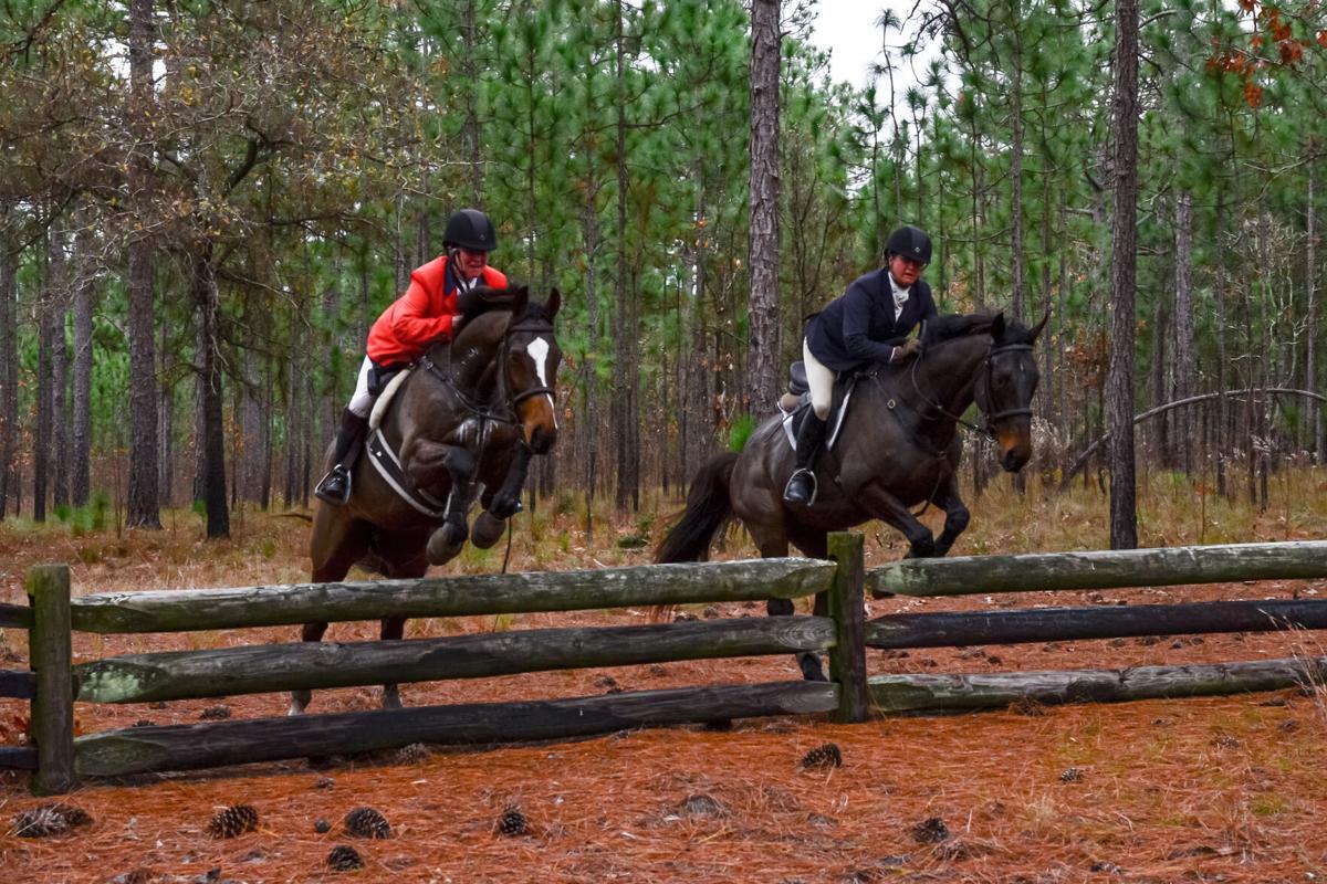 Cameron Sadler and sister  Tayloe Compton Moye jump together.jpg