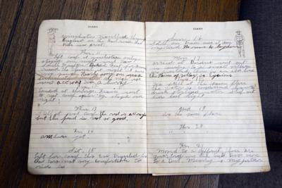 'Destroyers All Around': Southern Pines Man Transcribes Father's Diary Entries From World War I