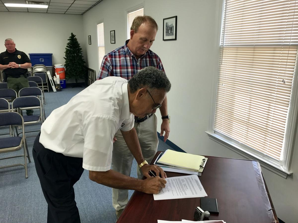 Taylortown Water Grant Signing