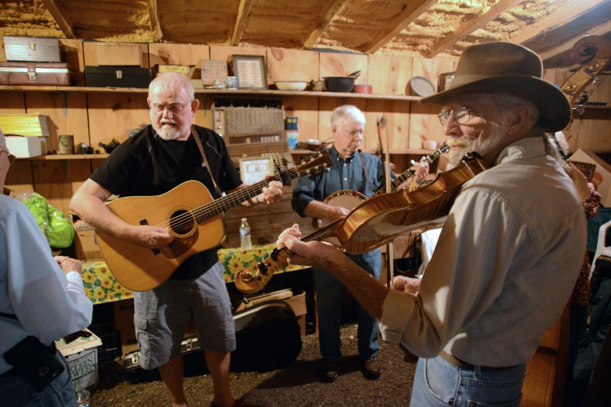 Salt Creek  Herbert Brady on guitar and
