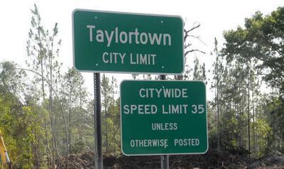 Taylortown City Limit