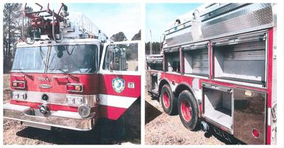 The ladder truck that the Carthage Fire Department plans to accept
