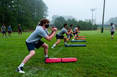 Union Pines fall workouts 1