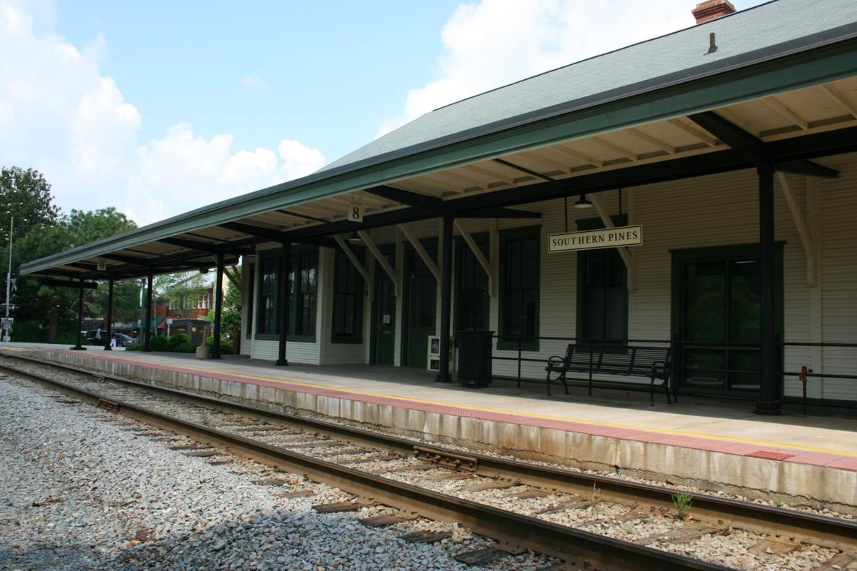 Coffee shop plans for sp train depot on hold business for Railroad depot plans