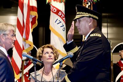 Gen. Raymond T. Odierno is sworn in as the U.S. Army's 38th chief of staff.