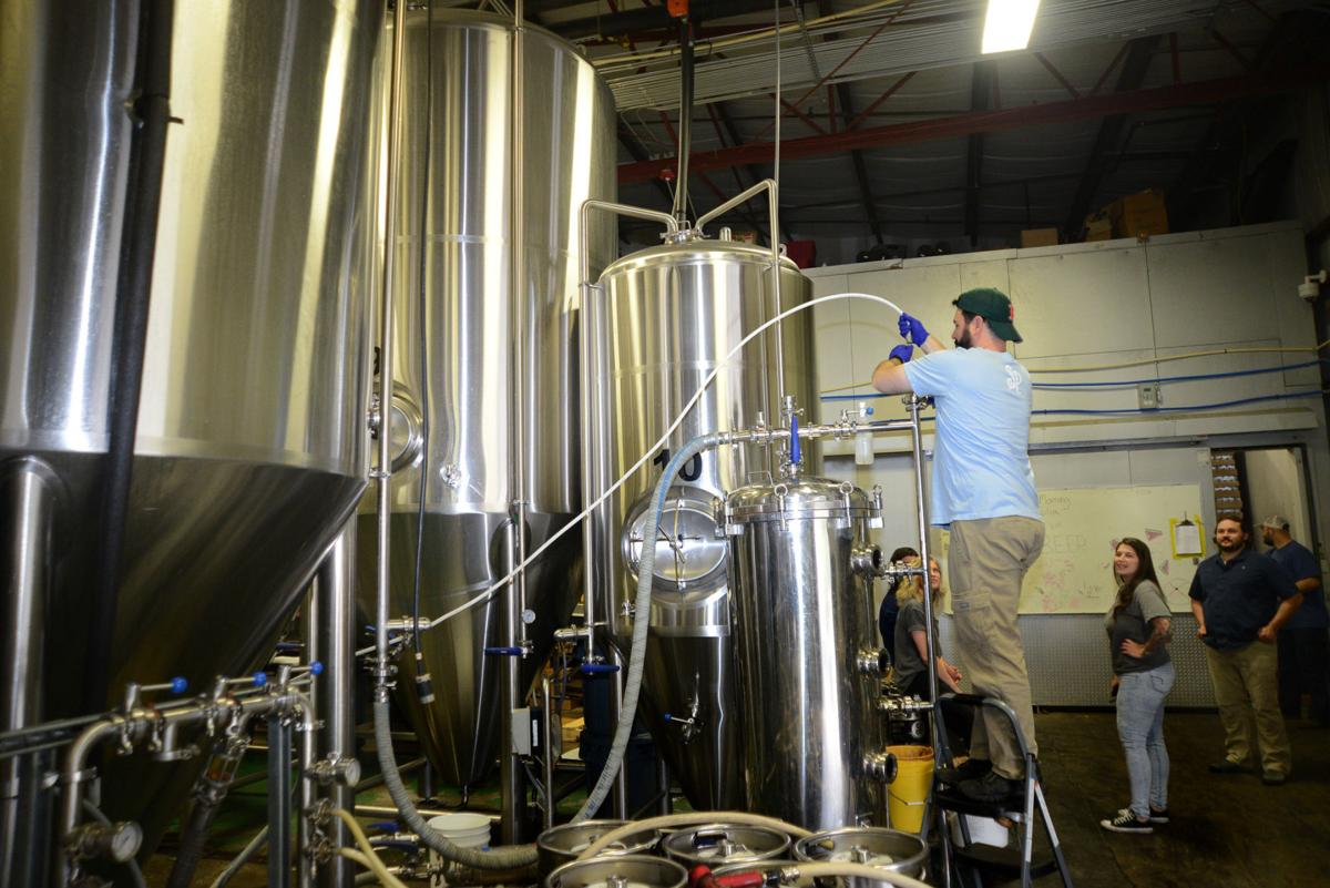 Southern Pines Brewing production