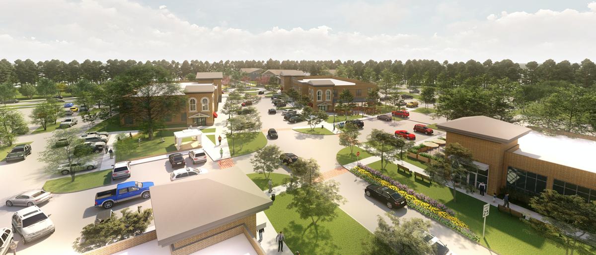 Blake Village central business area