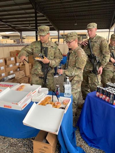 Donuts for troops