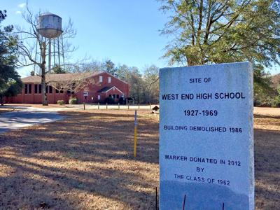 Site of West End High School