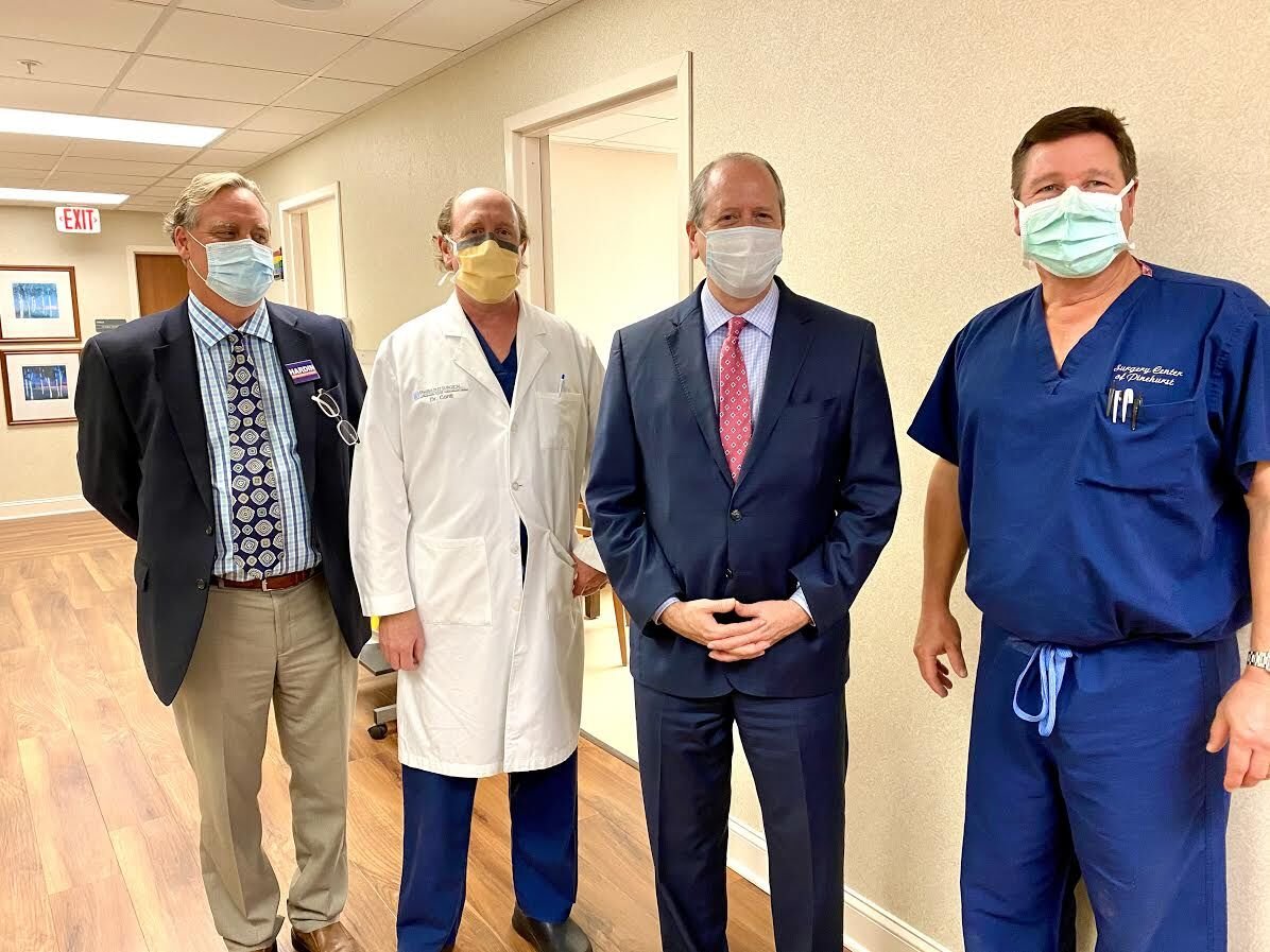 Dan Bishop with Pinehurst Surgical Clinic staff