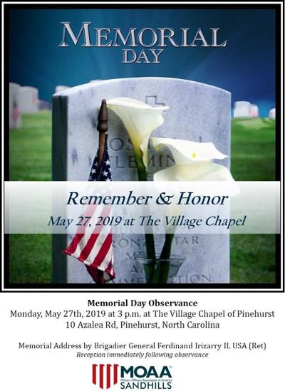 MOAA Memorial Day event