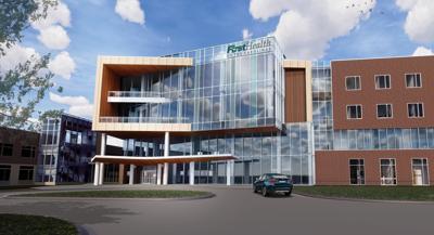 Rendering of Cancer Center