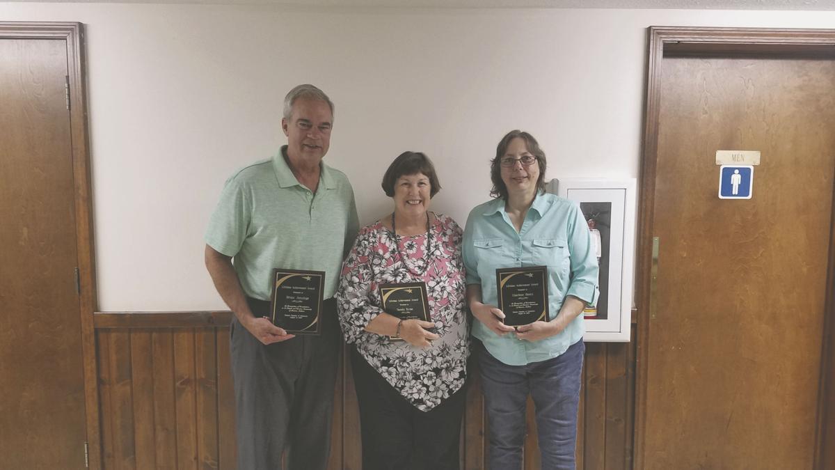 Charlene Beery, Bruce Jennings and Sandy Krost