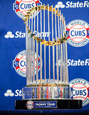 Cubs series trophy