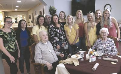 Miss Blueberry Festival Queen candidates visit Miller's