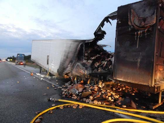 bagel truck fire